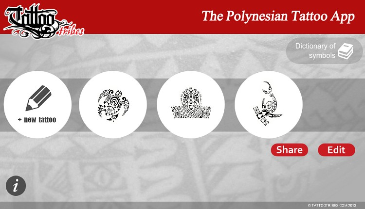 The Polynesian Tattoo App